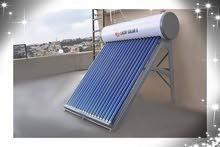 سخانات شمسية Lucky Solar 8 - من شركة السمان للطاقة المتجددة كاش او اقساط بنكية
