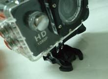 كاميرا اكشن كاميرا ضد المي معها كل اغراضها