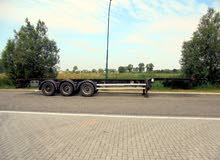 Tirsan 3-Axle 40/45 FT Chassis / BPW / Container Trailer 45ft