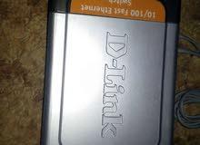 موزع شبكه ديلنك [4/4 8:25   D link ModelNo:DES-1008D [4/4 8:28  10/100 fast Ether net switch