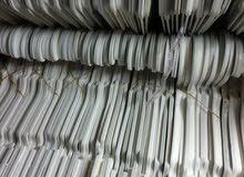 معاليق أبيض عاج (للفساتين) يوجد لدينا أكثر من 24 درزن