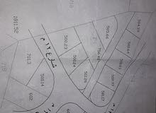 500 م أرض للبيع دفعة وأقساط مريحة عدة قطع المفرق/الخالدية خلف البلدية من المالك