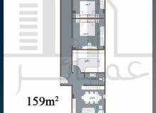 أمتلك شقة 159م امامي بحري في مدينة الشروق وبالتقسيط علي 36 شهر