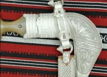 خنجر نادر صياغة ثقيلة - قرن زراف هندي نادر شبية الافريقي