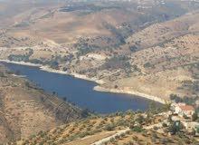 ارض في جبه الدقمسه اطلاله على سد الملك طلال بعيد عن مشروع الضغط العالي للكهرباء