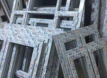 ورشة بي في سي لتصنيع الابواب و النوافد سرنيات