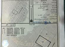 ارض للبيع ًالمساحه600•••الموقع الاخضر قرب مستشفى عبري