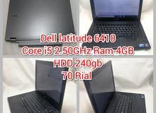 Dell i5, E6410 with warranty جهاز ديل مستعمل مع الضمان