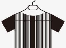 جهاز محاسبة لمحلات الملابس