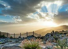 بيت قيد الإنشاء في سلطنة عمان (الجبل الأخضر)