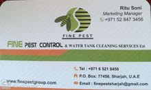 PEST CONTROL AND WATER TANK CLEANING SERVICES