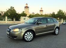 Automatic Gold Audi 2007 for sale