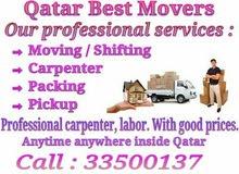 shifting moving packing parinting pickup service