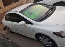 Automatic White Honda 2010 for sale