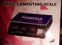 ميزان توشيبا ديجيتال يزن من 1 جرام الى 40 كيلو