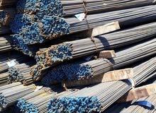 يوجد لدينا حديد بناء النوع اوكراني  افضل انواع الحديد  بكافه المقاسات
