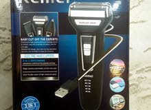 مكينة حلاقة KEmEi شحن3in1