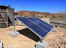 لدينا جميع منتجات لتركيب الخلايا الشمسيه