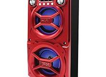 Sylvania SP328-Red سماعات بلوتوث محمولة    5 ألوان: أحمر