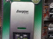 شاحن أصلي جميع أنواع البطاريات ماركة Energizer