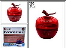 الان فواحة بخار منزلية أنيقة شكل التفاحة 2,5 لتر ضمان عامين