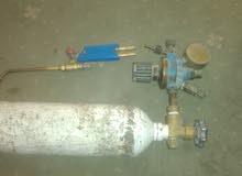 جرة اوكسجين صغيرة مع منظم مع فالة لحام
