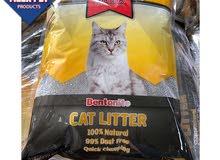 6 أكياس تراب قطط 5 لتر شامل التوصيل