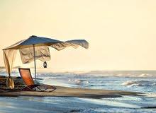 استراحة للإيجار على بحر موسم كامل في مصيف القره بوللي