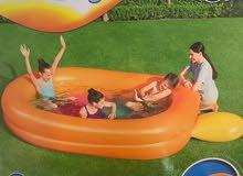 مسبح يسع 4 اشخاص