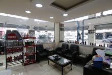 مركز صيانة سيارات في البيادر ( فخم جداً ) يعمل بشكل ممتاز للبيع المستعجل من المالك مباشرة