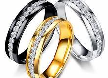 خاتم فولاذ مقاوم للصدأ