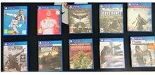 للبيع مجموعة العاب PS4