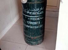 For sale   Bahrain gas cylinders  With gas regulator + gas hose  About half of