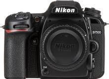 كاميرا نيكون D7500 فقط بدي