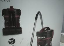 مكنسه كهربائية الاستعمال شهر ونص قوتها 1800wعملية ومرنه في الاستخدام
