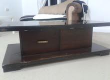 طاولة خشب لاتيه مستعملة للبيع
