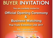 Shopping Experience  and Amazing Discounts at Thai Trade Exhibition UAE 2017