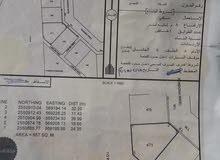 ارض سكنيه للبيع الجبل الاخضر (سيح قطنه قرب مسجد الرحمه)