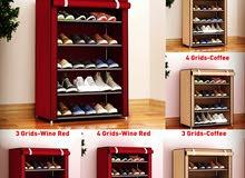خزانة الأحذية المصنوعة من القماش والحديد 72* 30*60 سم .