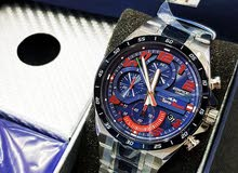 Casio Edifice EFR-564TR-2A TORO ROSSO Watch With Stainless Steel