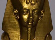 رأس تمثال فرعوني