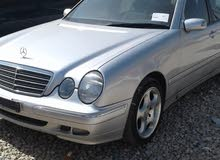 Mercedes Benz E 200 made in 2001 for sale
