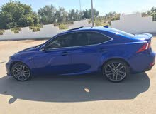 For sale 2016 Blue IS