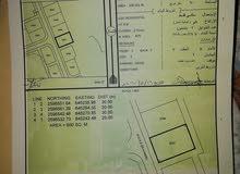أرض سكنية للبيع في مرتفعات العامرات التاسعة13600