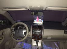 For sale 2010 Blue Corolla