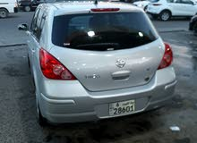 Nissan Tiida 2011 For sale - Silver color