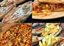 مطلوب اسط بيتزا ومعجنات