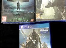 عرض على 3 العاب منهم 2 جديدة PS4