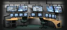 كاميرات مراقبة اصلية لاصحاب المولات والشركات والمواقع والمكاتب