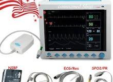 جهاز مونيتر كامل   معاه كابنو قرام patient monitor with capnogram
